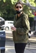 Katherine Schwarzenegger Leaves the baby home