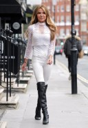 Lizzie Cundy Seen out with best friend Claire Cauldwell 13