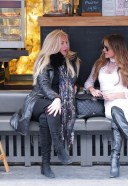 Lizzie Cundy Seen out with best friend Claire Cauldwell