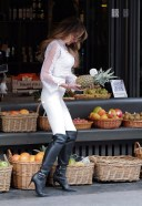 Lizzie Cundy Seen out with best friend Claire Cauldwell 3