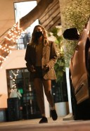 Hailey Baldwin/Bieber looks flawless as she leaves after a 4-hour