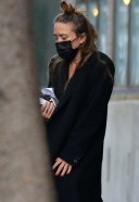 MaryKate Olsen Is spotted leaving her office