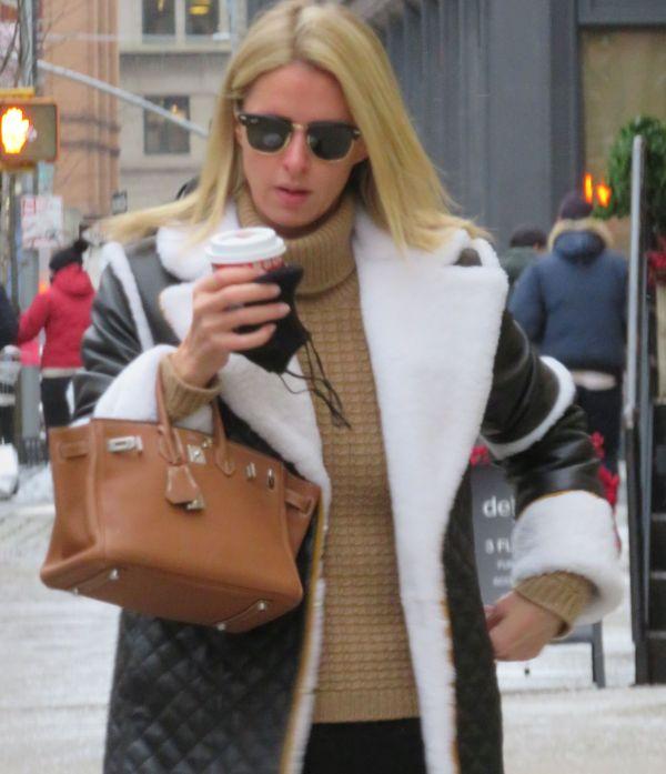 Nicky Hilton Stops by Soho in New York