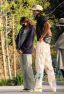 Kaia Gerber Debuts very long hair extensions while loved up with boyfriend Jacob Elordi in Malibu 13