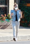 Kate Mara seen out on a coffee run in Los Feliz California