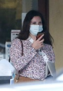 ana Del Rey Out picking up food from Il Tramezzino after doing some shopping in Studio City