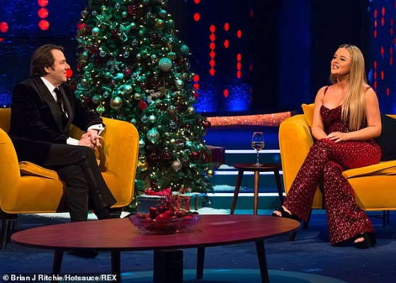 Emily Atack The Jonathan Ross Show