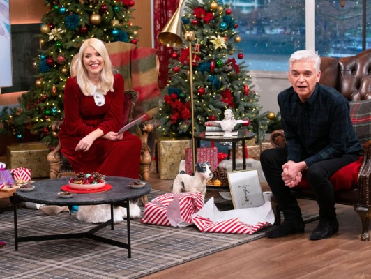Holly Willoughby This Morning Christmas Special TV