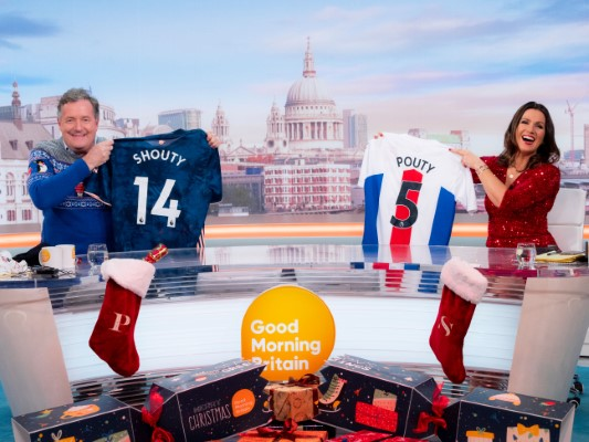 Susanna Reid Good Morning Britain GMB Christmas Special