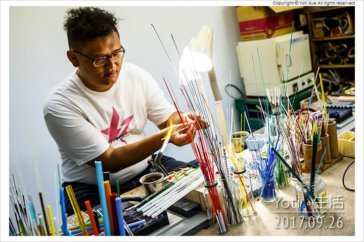 [花蓮美崙] 馨工房 | 琉璃珠燒製和編串的手作體驗 DIY〈公益邀約〉