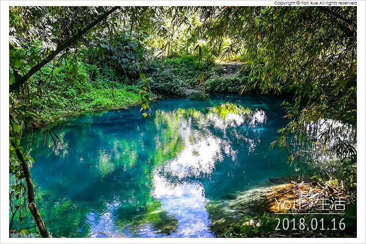 [花蓮光復] 拉索埃湧泉生態園區 | 藍色眼淚所編織出的愛情神話與千年傳說
