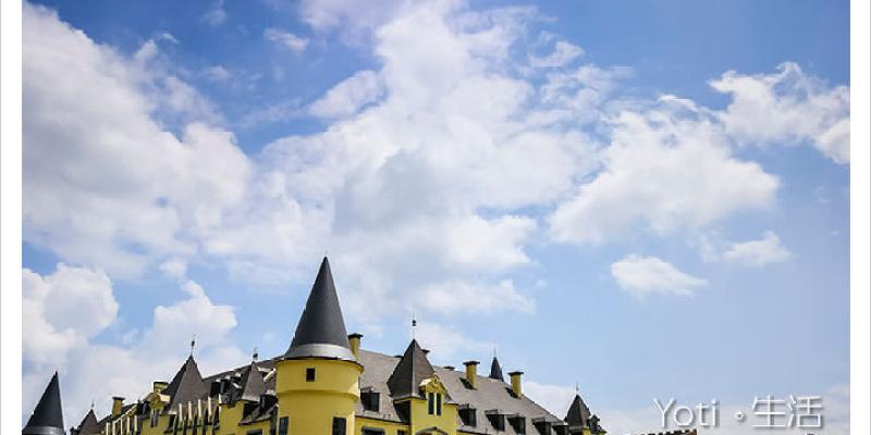 [花蓮瑞穗] 春天國際觀光酒店 | 童話般歐風城堡飯店, 夢幻到不要不要的打卡景點