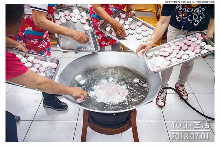 [花蓮富里] 竹田義民亭 | 客家大湯圓、紅龜糕、艾草糕 DIY 體驗