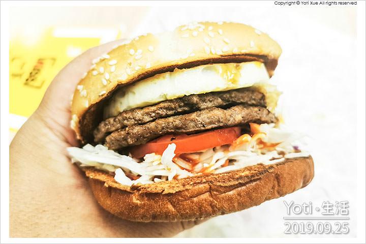 [麥當勞] 醬烤蛋煎雙牛堡   韓式水梨BBQ醬 x 特選A級蛋 x 雙層純牛肉
