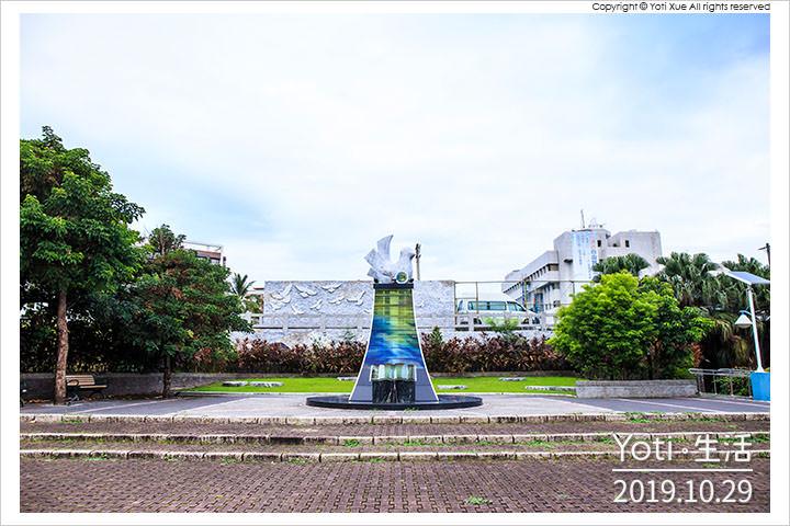 [花蓮市區] 和平廣場 | 二二八紀念碑與和平鐘