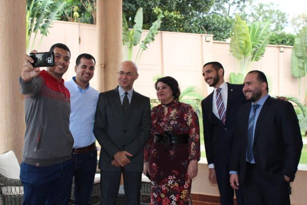 السفيرة المصرية فى أوغندا تلتقى أبناء الجالية