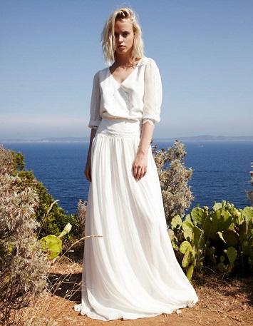 تصميم مميز لفستان زفاف