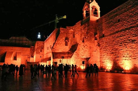 كنيسة المهد فى بيت لحم