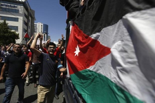 احتجاجات فى فلسطين