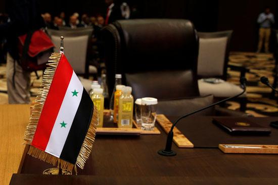 مقعد سوريا ـ شاغرا بسبب الأزمة