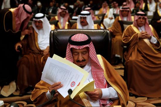 الملك سلمان خادم الحرمين الشريفين