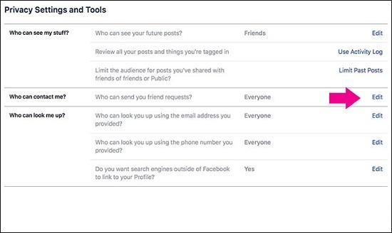 لمنع الآخرين من العثور عليك طريقة إخفاء حسابك على فيس بوك