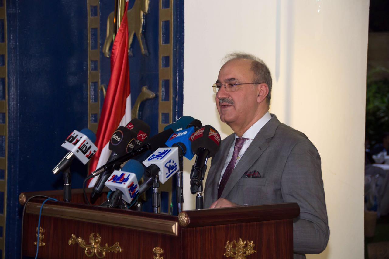 السفير العراقي حبيب الصدر