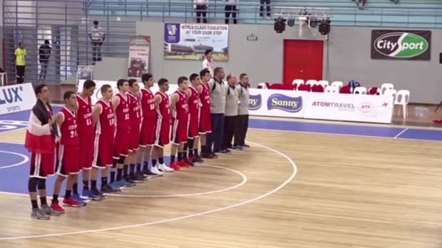 منتخب ناشئين السلة