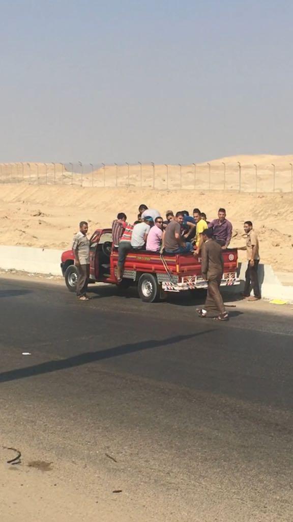 المرور يشن حملات على سيارات نقل تحمل ركاب على الطرق (1) - Copy