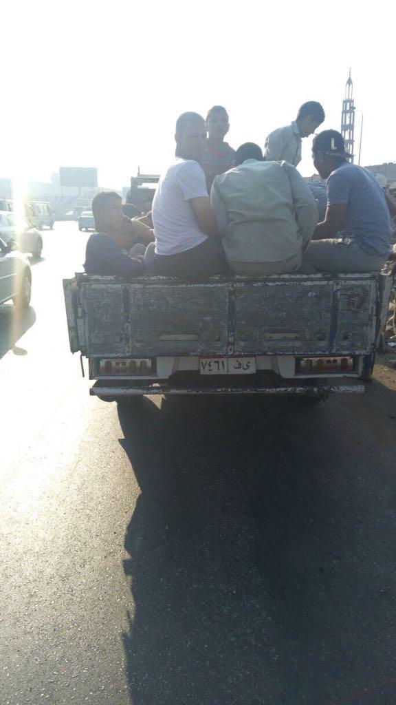 المرور يشن حملات على سيارات نقل تحمل ركاب على الطرق (3) - Copy