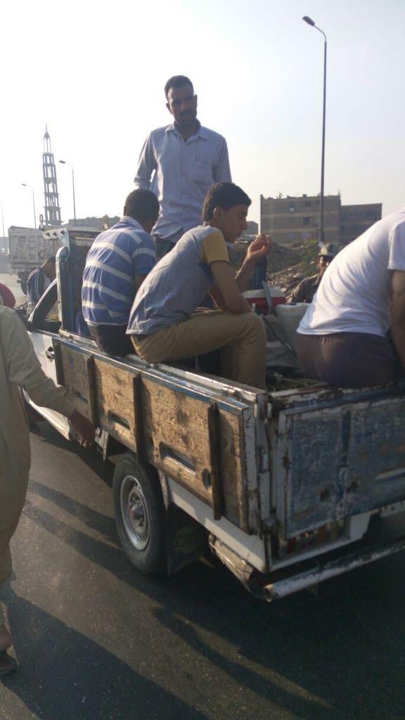 المرور يشن حملات على سيارات نقل تحمل ركاب على الطرق (6)