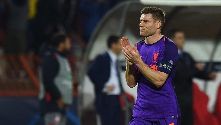 James Milner is captain of Liverpool