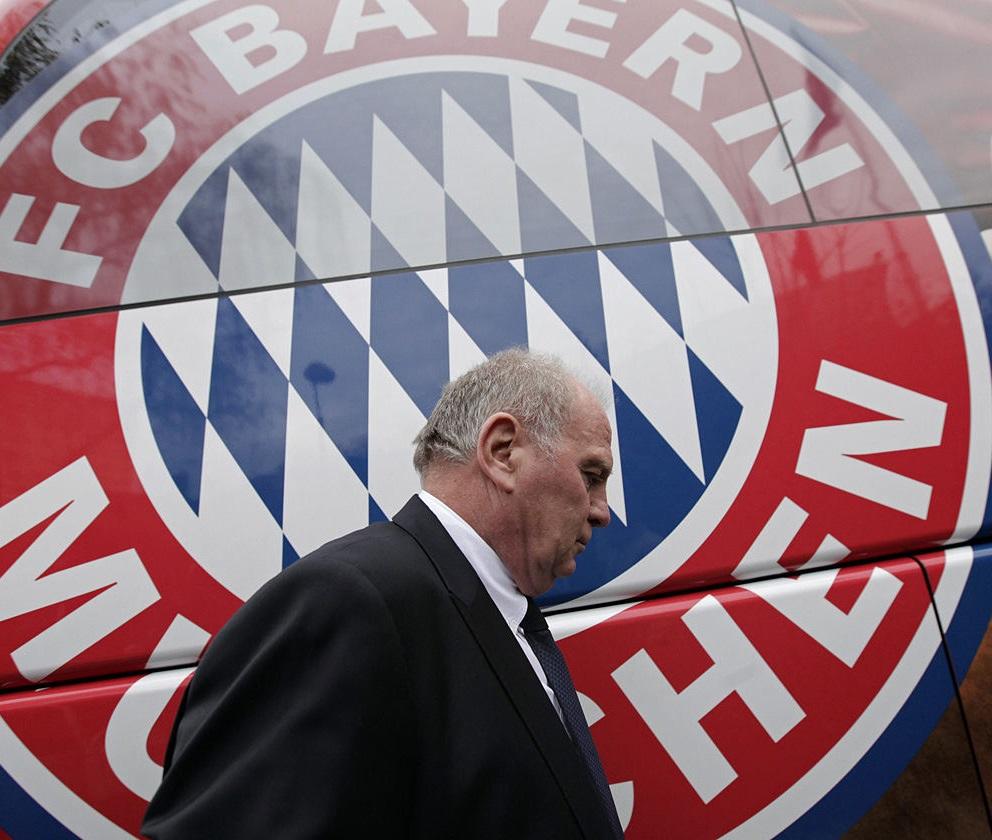 Uly Hoeness, president of Bayern Munich