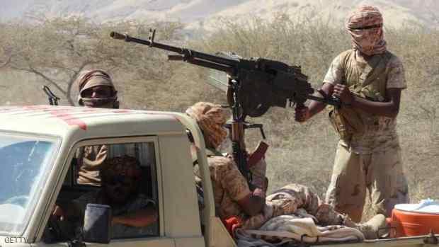تقدم الجيش اليمنى فى الجبهات