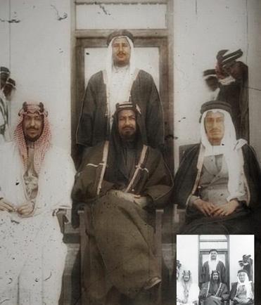 ملوك وأمراء السعودية أبناء الملك المؤسس بمراحل عمر مختلفة 36 صورة