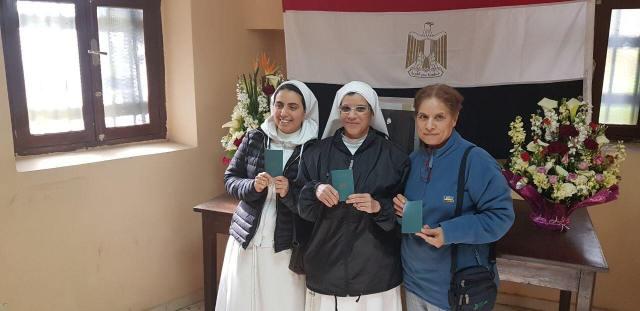 راهبات مصريات بالمغرب
