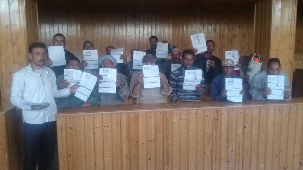 شراء شهادة أمان لعمال النظافة علي نفقة المحافظة (5)