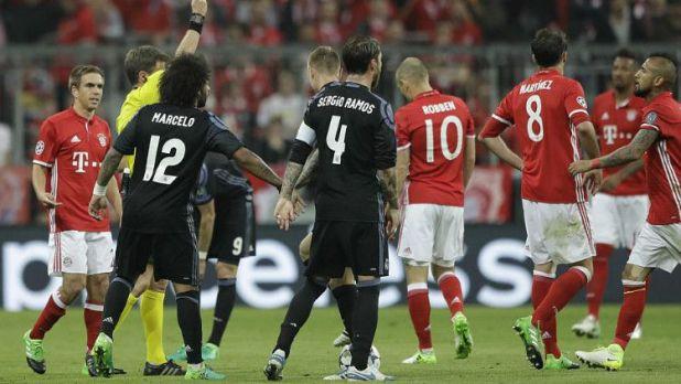 مواجهة ريال مدريد وبايرن ميونخ