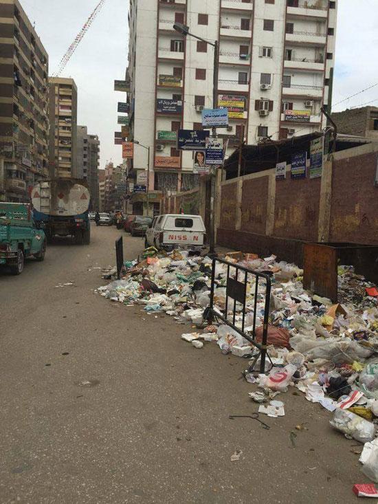 صور.. فشل منظومة النظافة الجديدة بأحياء ومدن أسيوط