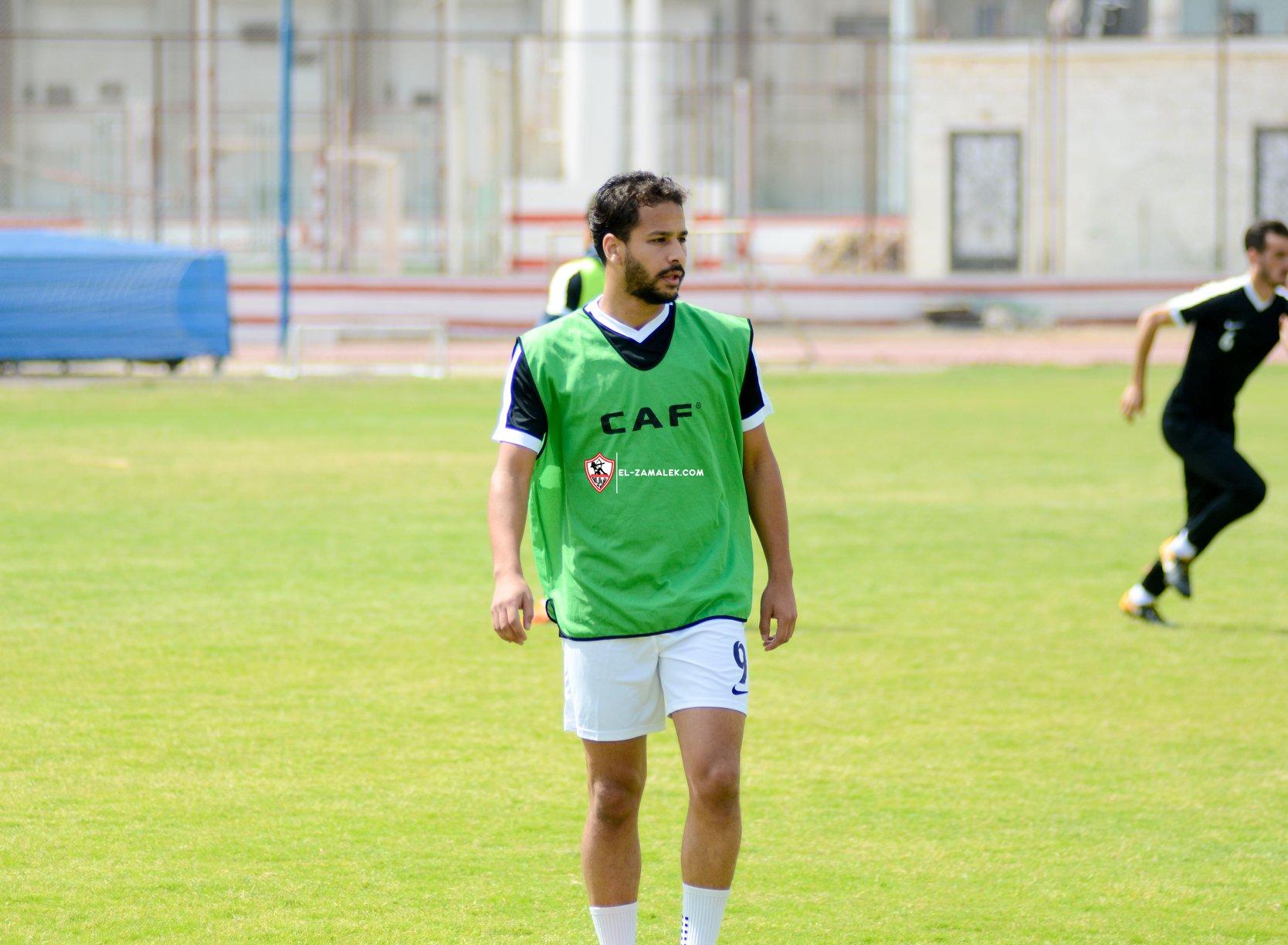 أحمد رفعت يعود للتدريبات