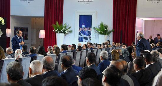 مؤتمر الشباب بمشاركة الرئيس السيسى (1)