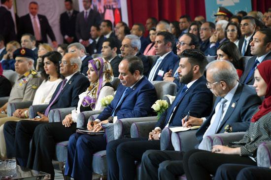 مؤتمر الشباب بمشاركة الرئيس السيسى (4)