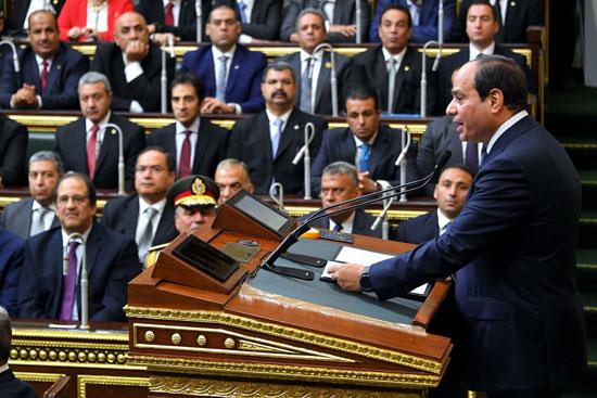 خطاب الرئيس السيسى أمام البرلمان (12)