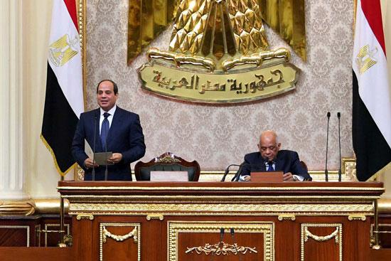 خطاب الرئيس السيسى أمام البرلمان (18)