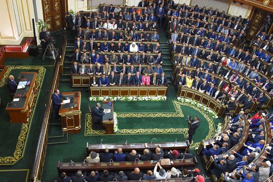 خطاب الرئيس السيسى أمام البرلمان (3)
