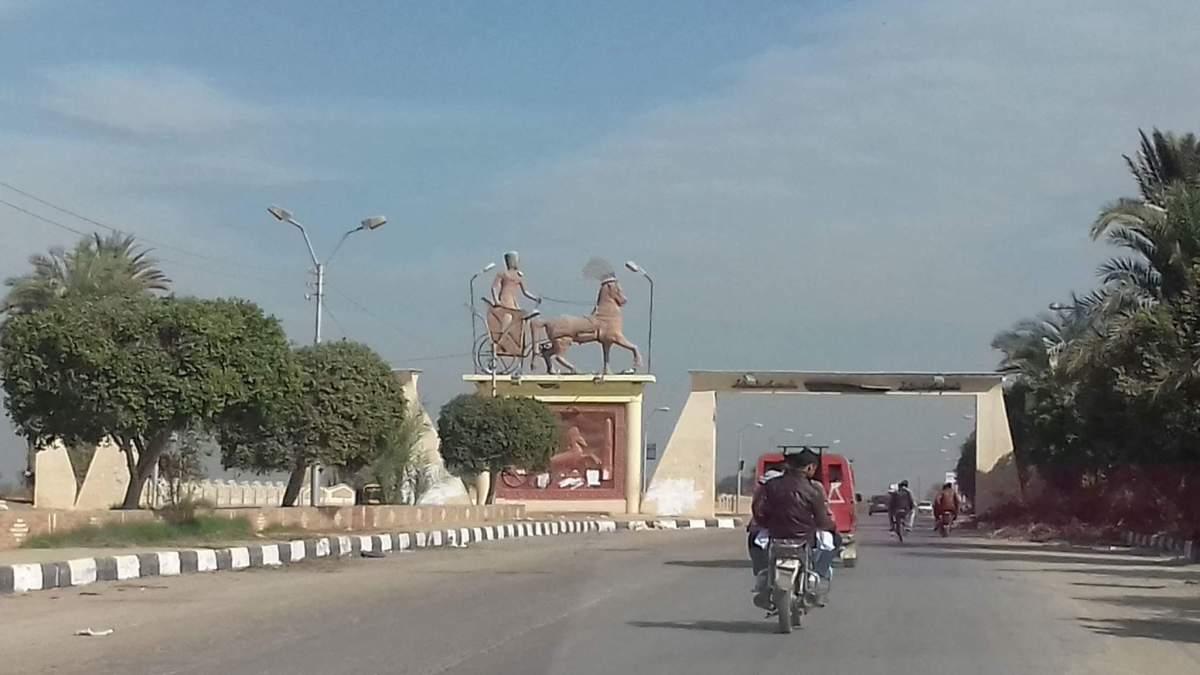 6- مدخل مدينة اهناسيا