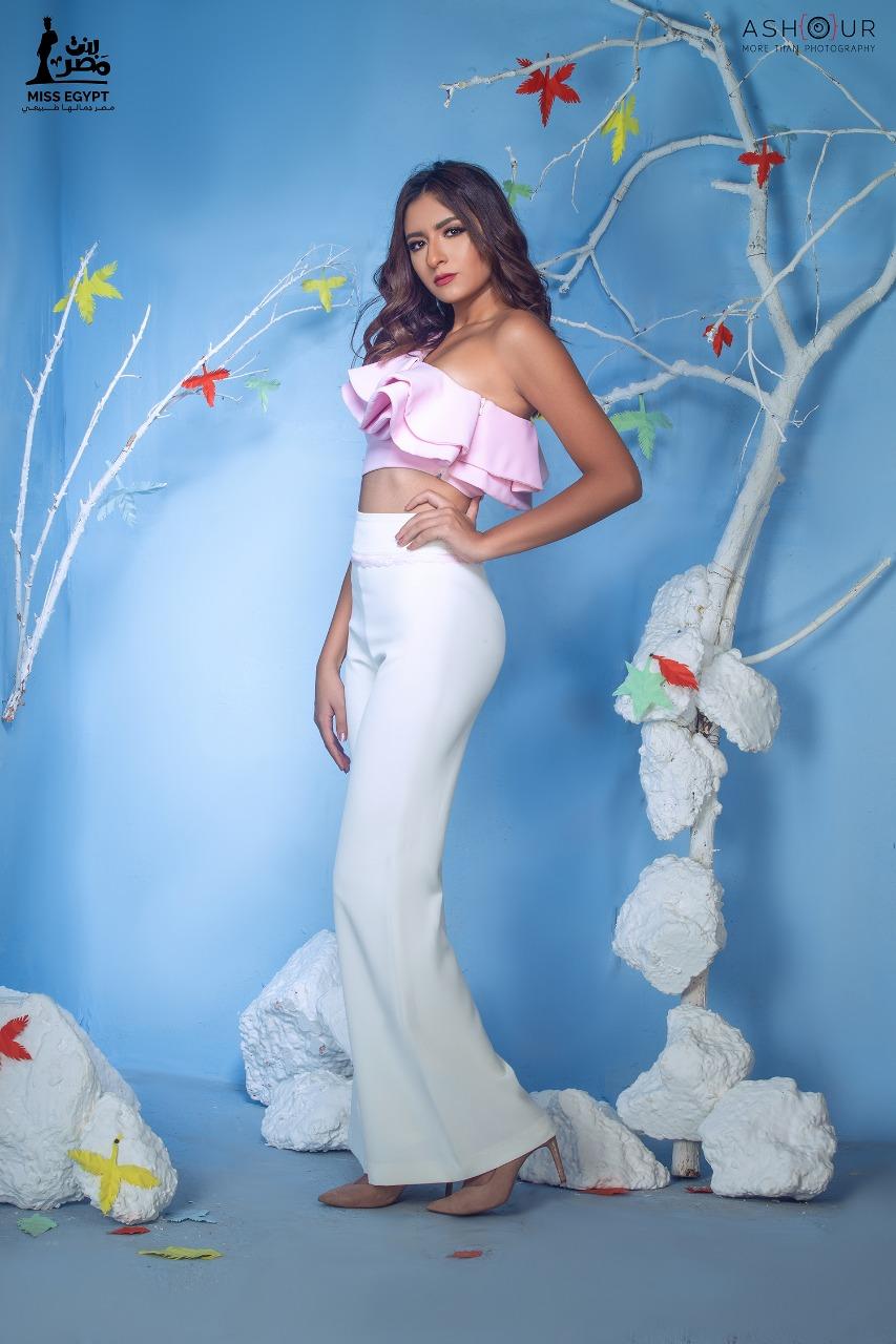 أول جلسة تصوير لمتسابقات Miss egypt (12)