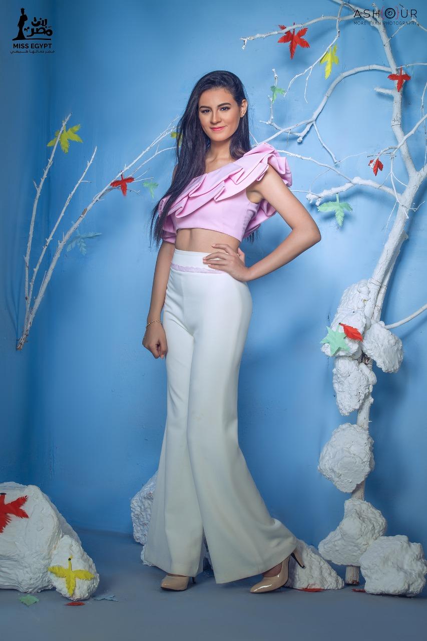 أول جلسة تصوير لمتسابقات Miss egypt (18)