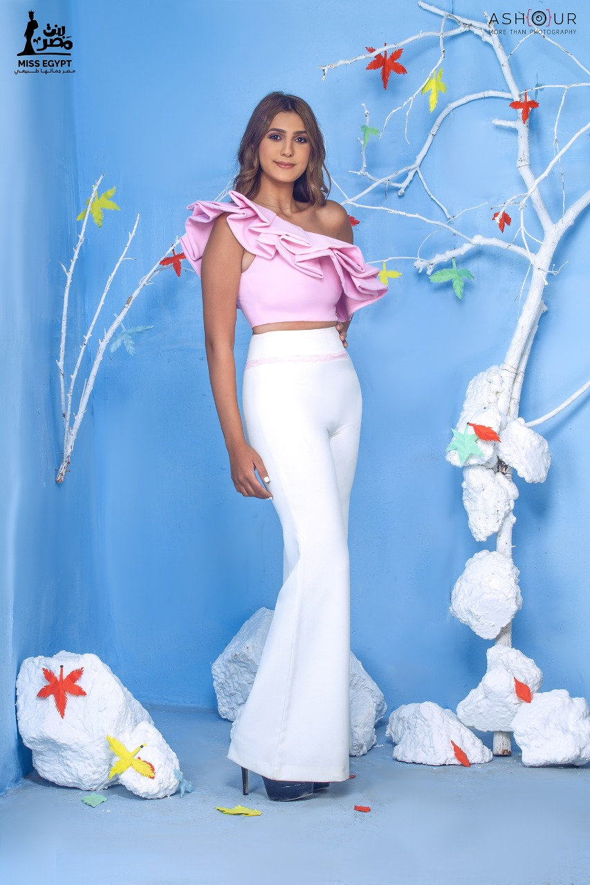 أول جلسة تصوير لمتسابقات Miss egypt (11)