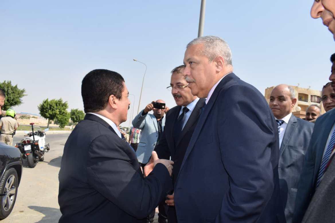 افتتاح مقر النيابة الإدارية فى مدينة العبور (2)
